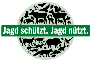 Jagd schützt. Jagd nützt. Logo